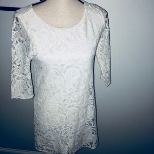 Gorgeous Lace Everly brand dress.